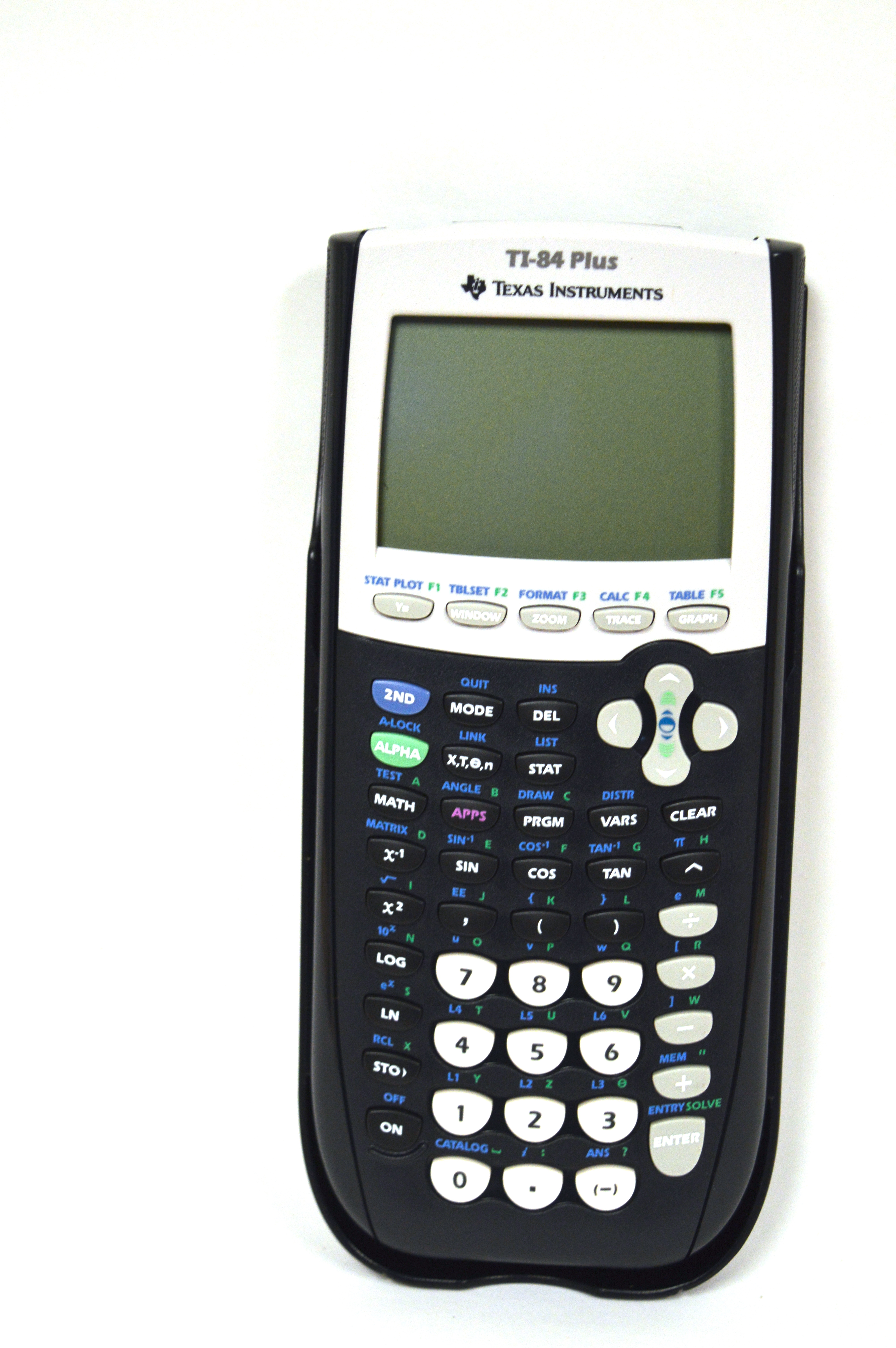 Texas Instruments TI-84 Plus Graphing Calculator with 30V cord, USB