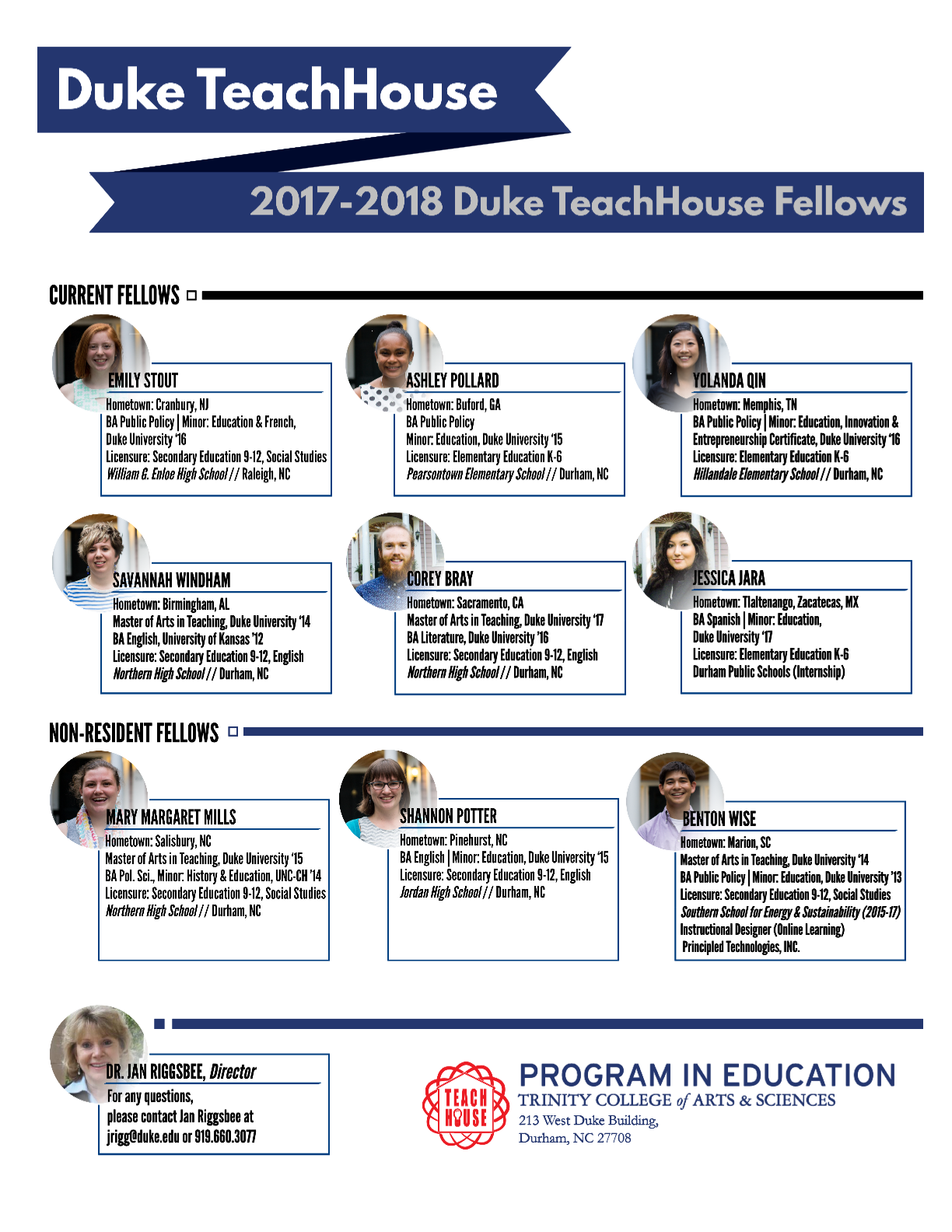 Current Fellows | Program in Education